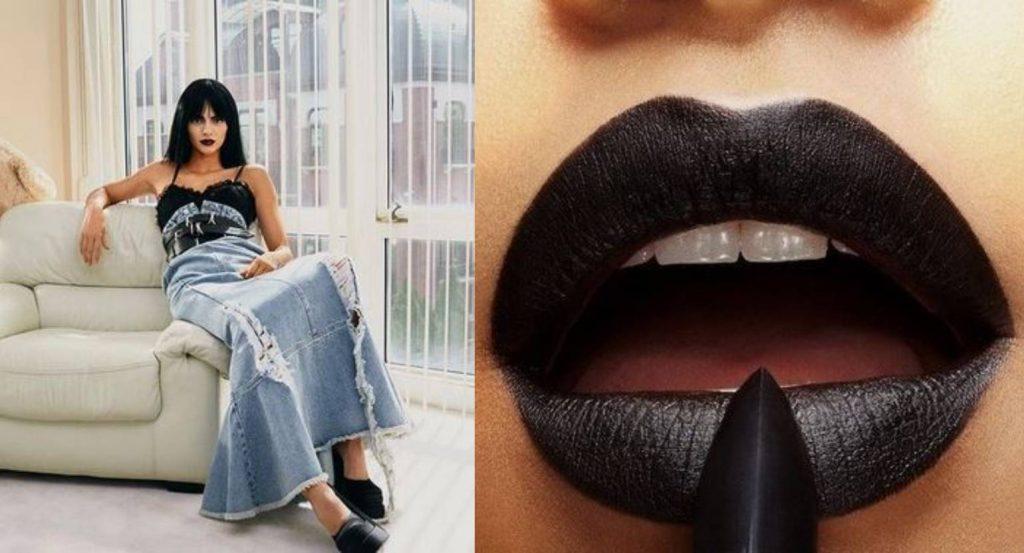 Najavljuje jesenski hit: Kendal Džener isfurala crni ruž za usne
